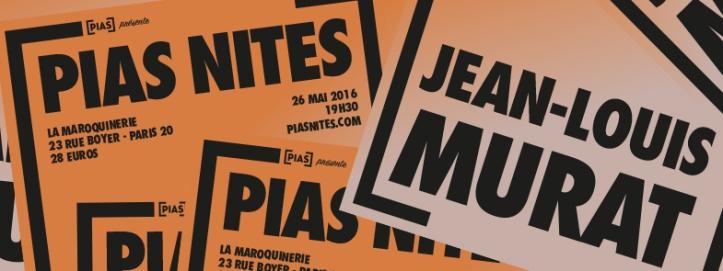 Pias Nites Jean-Louis Murat